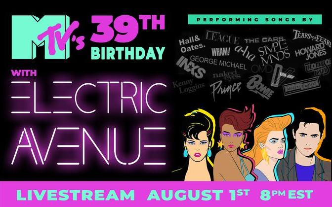 Electric Avenue's Livestream - Celebrating 81-89 - Happy 39th Birthday MTV!