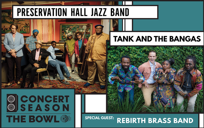 Preservation Hall Jazz Band & Tank and the Bangas