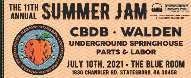 11th Anniversary Summer Jam at The Blue Room