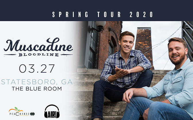 Muscadine Bloodline (rescheduled from March 27th)