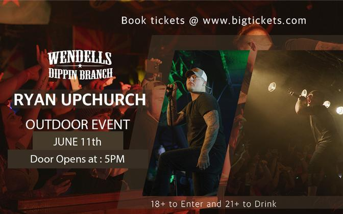 Upchurch live In Concert At Wendell's Dippin Branch