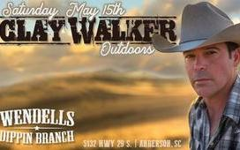 Clay Walker live in concert w/ Elvie Shane At Wendell's