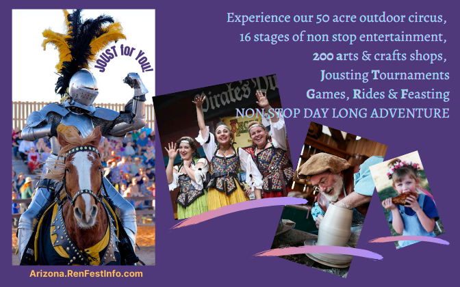 34th Annual AZ Renaissance Festival & Artisan Marketplace