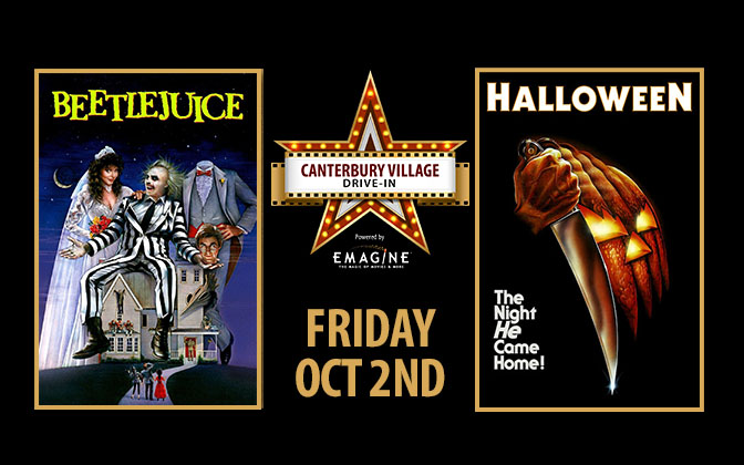 Canterbury Drive In Movies October 2nd