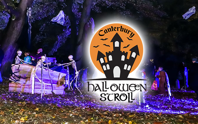 Canterbury Halloween Stroll October 22nd