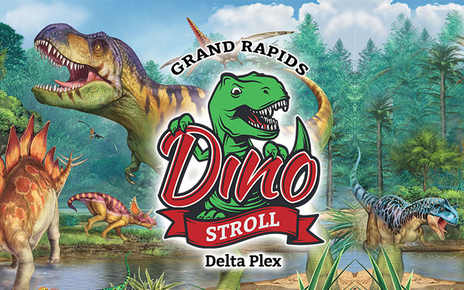 Dino Stroll Grand Rapids June 19th