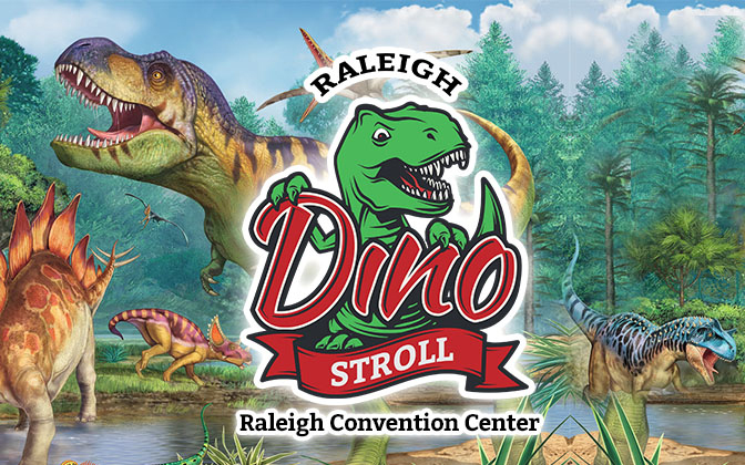 Dino Stroll Raleigh February 13th