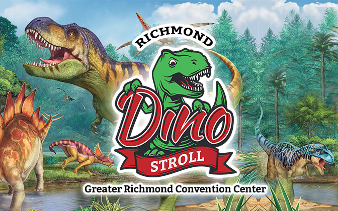 Dino Stroll Richmond September 18th