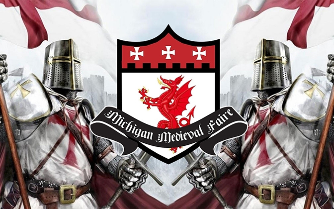 Michigan Medieval Faire Stroll July 25th