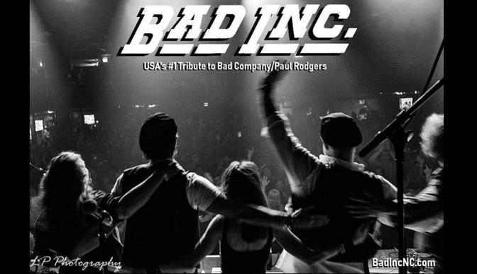 Bad Incorporated | Bad Company/Paul Rodgers Tribute (starts at 9 PM)