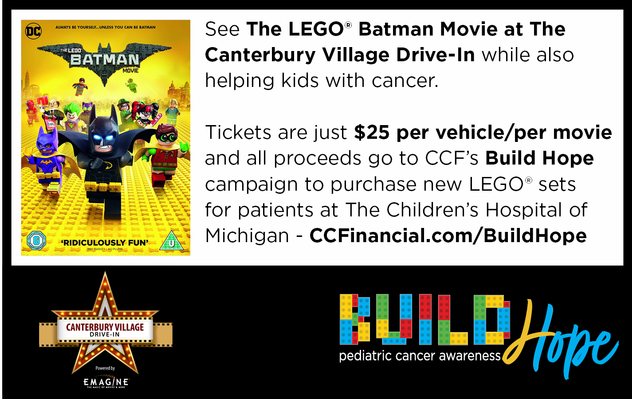 Drive-In Movie at Canterbury Village: Showing The LEGO Batman Movie