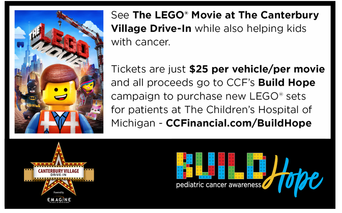 Drive In Movie At Canterbury Village Showing The Lego Movie 1 Canterbury Village Drive In Powered By Emagine Lake Orion Mi Thu Sep 17 2020 6 00pm