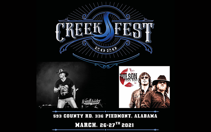 CreekFest 2020 March 27th - Frank Foster