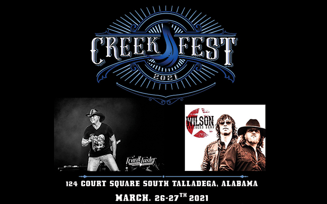 CreekFest 2021 Two Day Festival - March 26-27