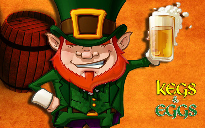 St Patrick's Kegs & Eggs Block Party in Virginia Highland