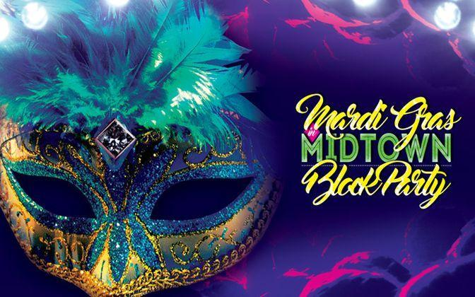 Midtown Mardi Gras Block Party