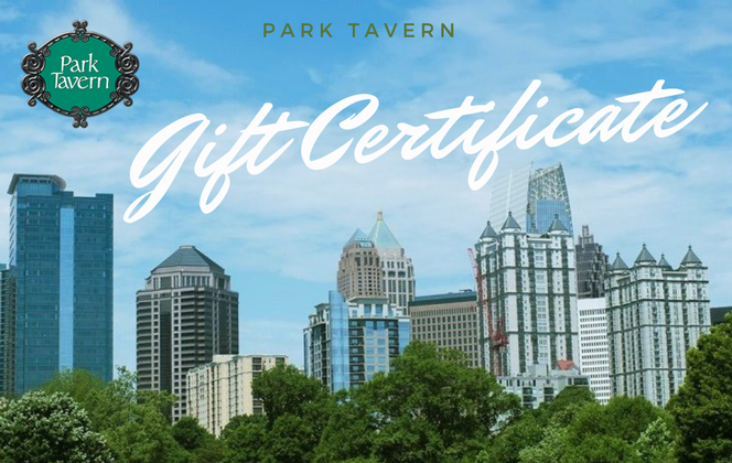 Park Tavern Gift Certificates