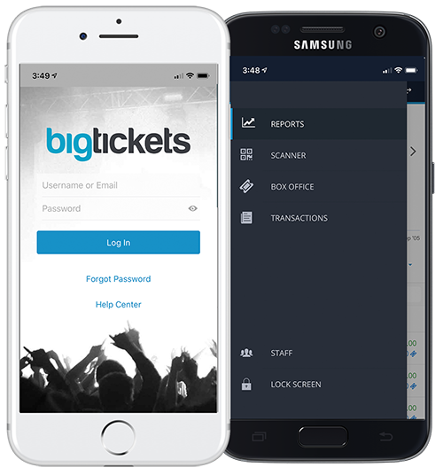 Eventpro App | Big Tickets